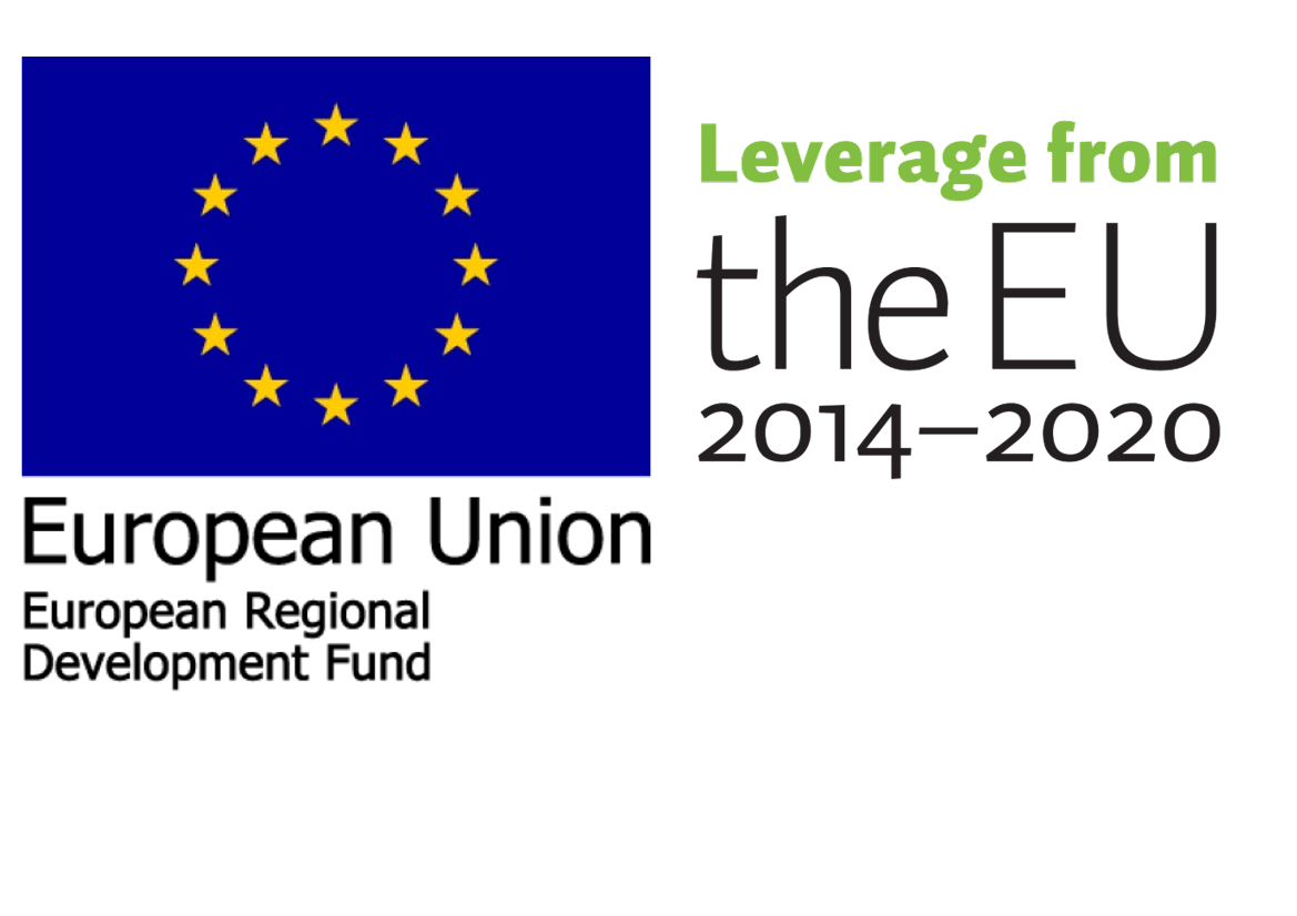 European Regional Development Fund ERDF logo